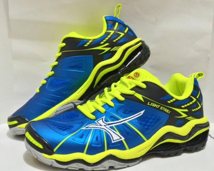 Sepatu Badmintonvolley Mitzuda Star Light Iii Lemon Original ... 07a2339105
