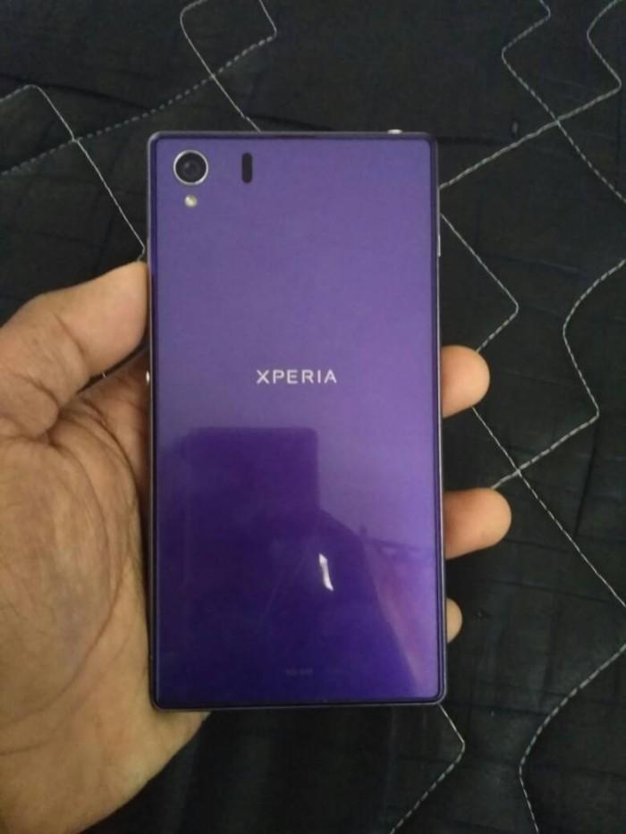 sony xperia z1 purple. sony xperia z1 docomo purple mulus 98%