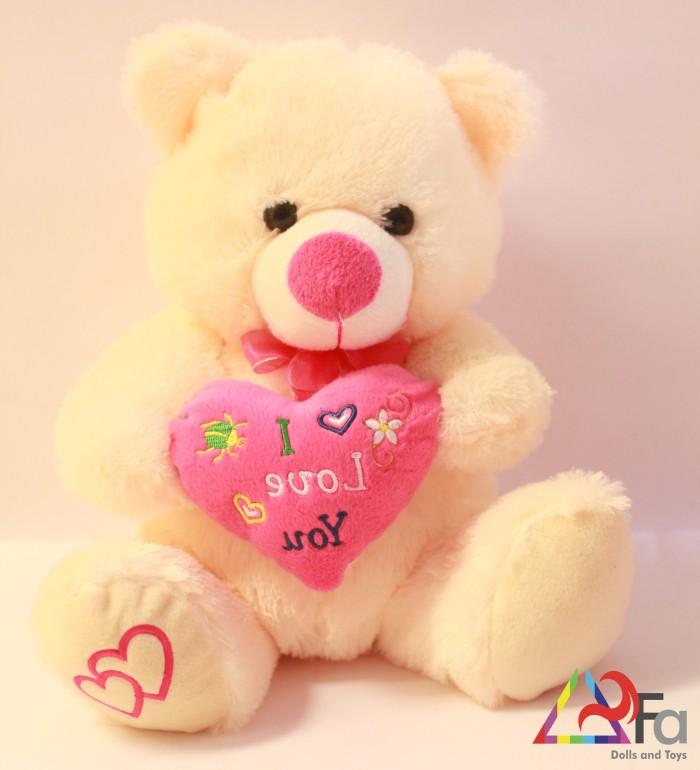 Boneka Teddy Bear Love 35cm, Boneka Beruang Love, Boneka Panda Love