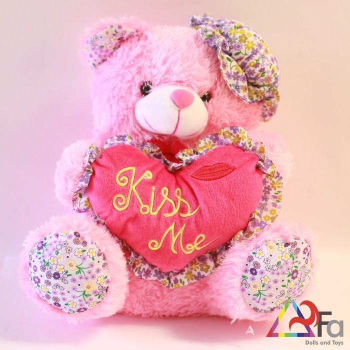 Boneka Bear Kiss Me 37cm, Boneka Teddy Bear, Boneka Beruang
