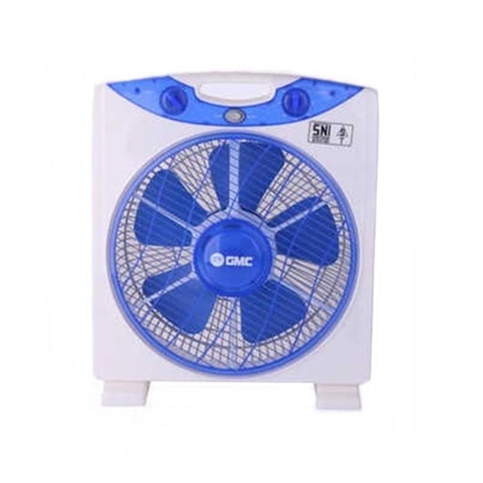 GMC 708 Box Fan 12 inch - Kipas Angin Kotak - Meja - Duduk - Lantai