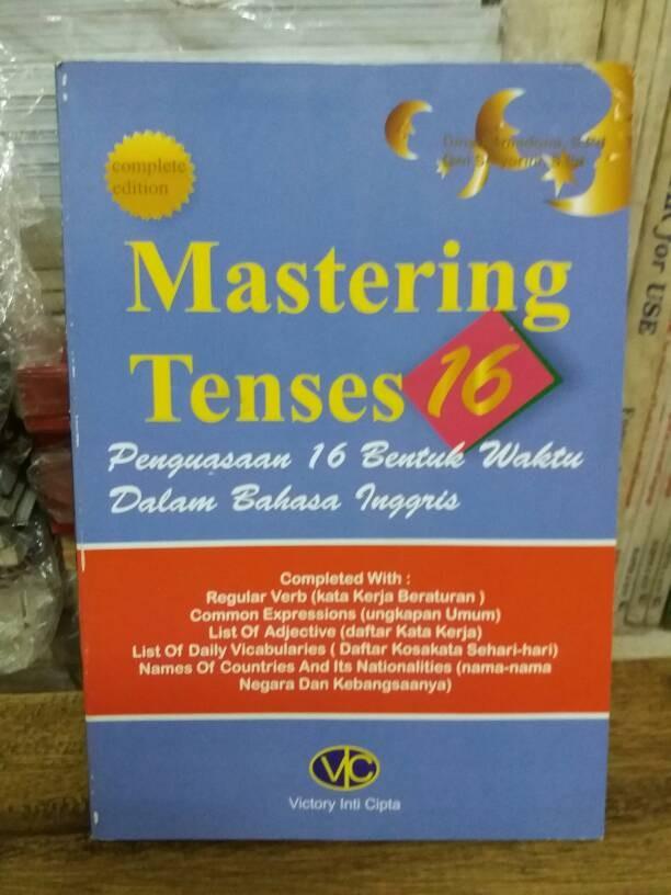 harga Mastering tenses 16 Tokopedia.com
