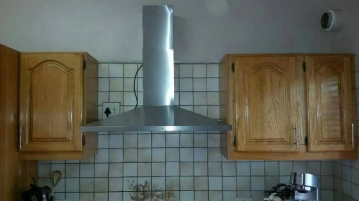 Exhaust Fan Kitchen Hood Cooker Penghisap Asap Dapur