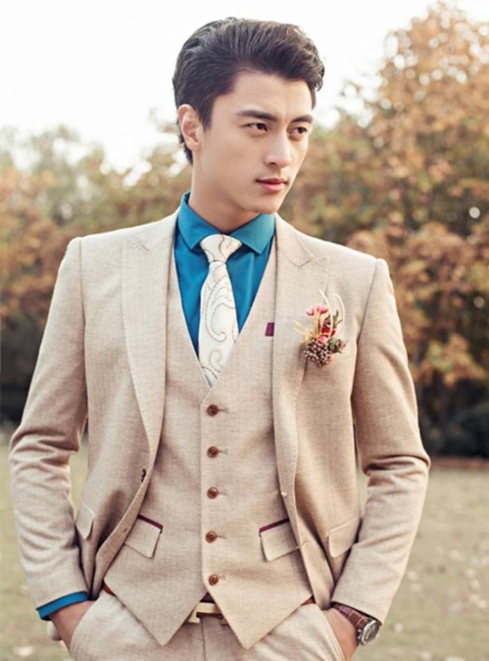 Jual Jas Pria Formal Stelan Import Wedding Prewedding Is 1022 Coklat Muda Jakarta Timur Gaun Baru Tokopedia