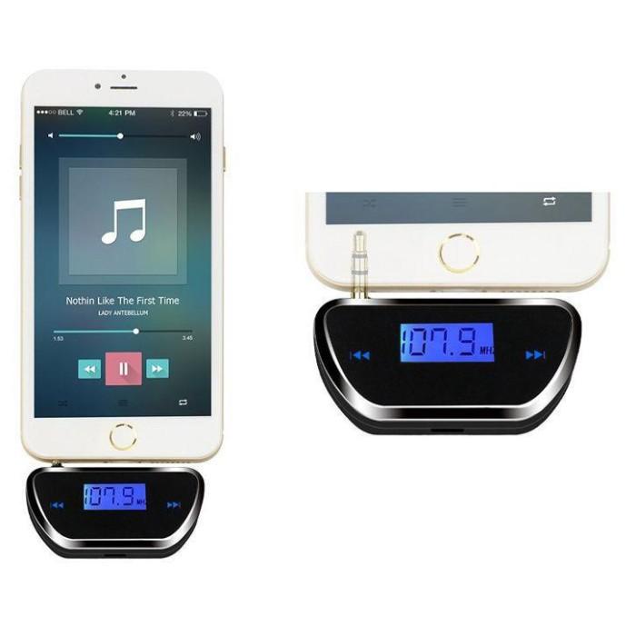 harga Pemancar Fm Jack 3,5mm Untuk Smartphone Spy Bisa Didengar Dari Radio Tokopedia.com