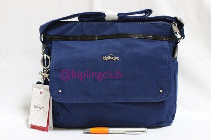 Jual Tas kipling aisling dark blue authentic original - wishopp tas ... 866c18eec9