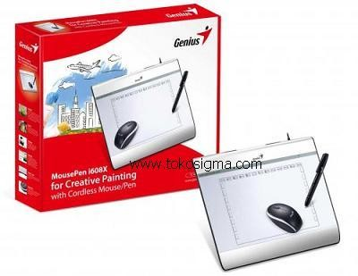 harga Genius mouse pen i608x for creative painting with cordless mouse / pen Tokopedia.com