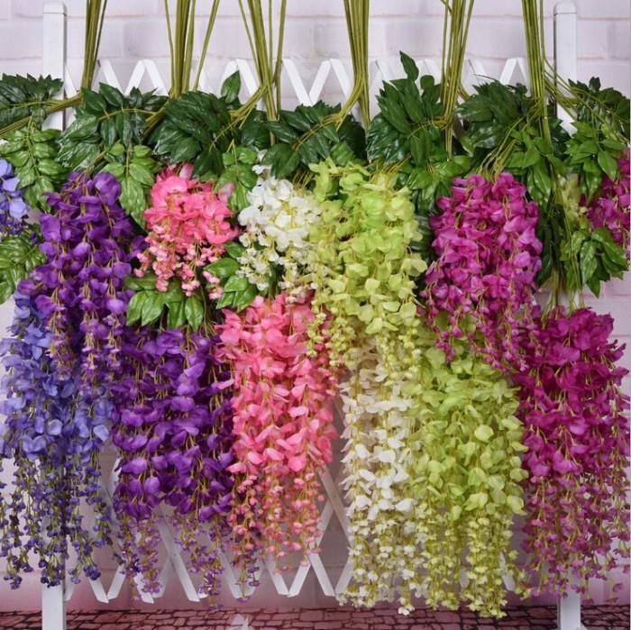 Bunga gantung / bunga artificial / bunga rambat / bunga wisteria