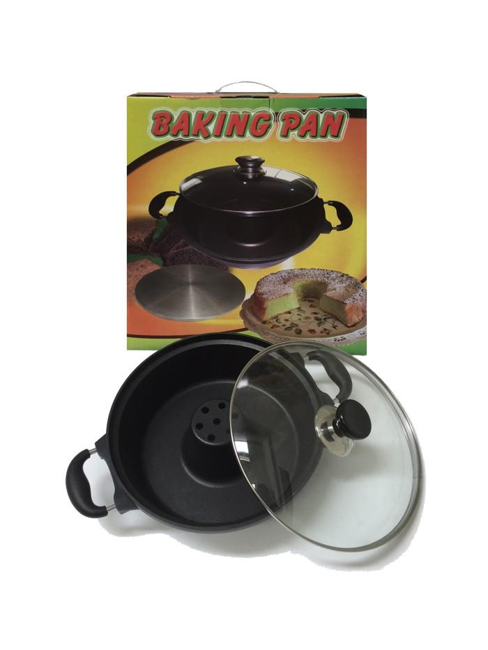 Jual Snack Maker Baking Pan Loyang Cetakan Kue Bolu Anti