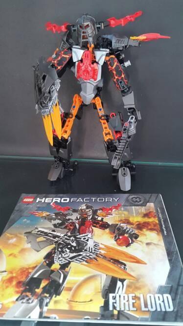 Jual Lego Hero Factory 2235 Fire Lord Kota Bandung Spezbrick
