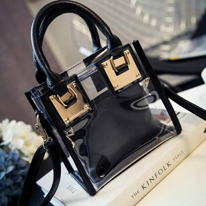 harga Tas kerja kuliah elegan mika bag in transparan dior fashion import Tokopedia.com