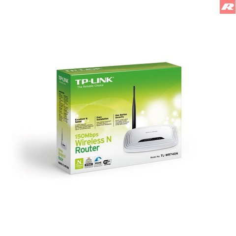 Foto Produk TP-LINK 150Mbps Wireless N Router TL-WR740N dari Customations Toys