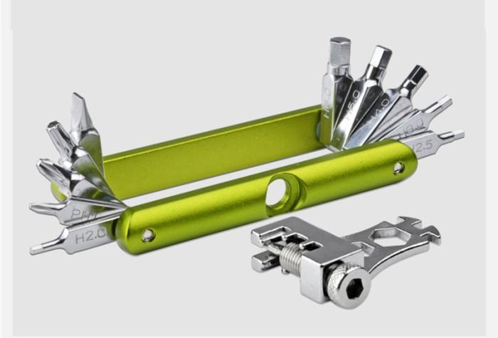 harga Tool kit 14 in 1 hijau Tokopedia.com