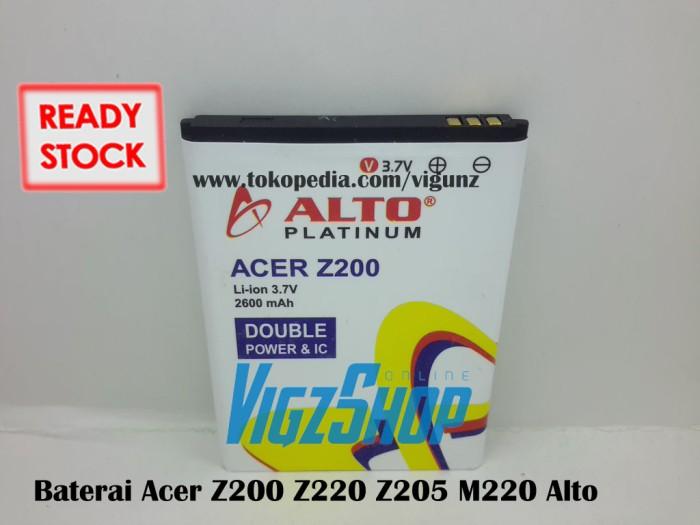 Baterai Acer Z200 Z220 Z205 M220 2600mah Alto Double Power