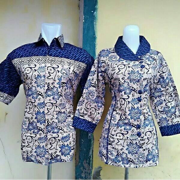 harga Sarimbit batik/baju couple/couple blouse/seragam batik/seragaman Tokopedia.com