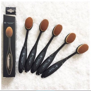 anastasia brush kit. anastasia beverly hills oval blending brush abh mac foundation face anastasia brush kit t