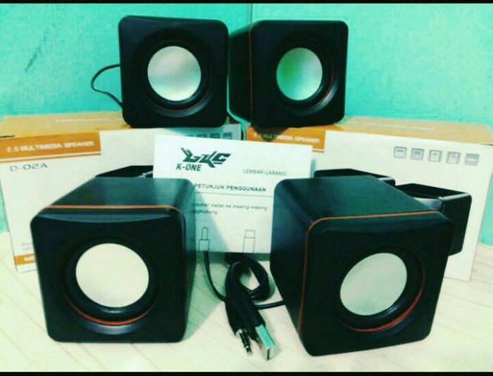 harga Speaker mini multymedia usb kotak Tokopedia.com