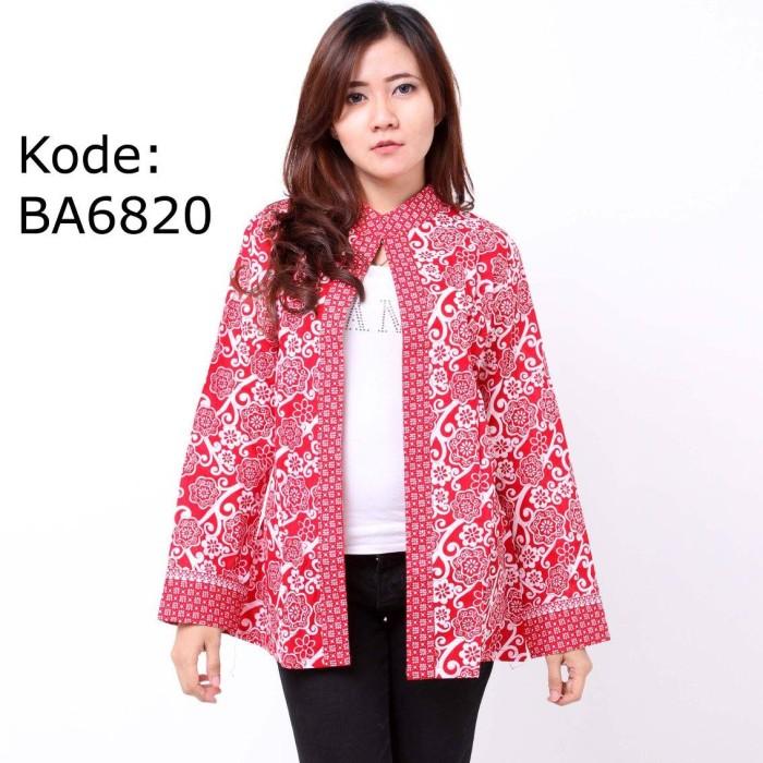 Jual Cardigan Batik Lengan Panjang Ba6820 Kab Bantul Pesona Batik Tokopedia