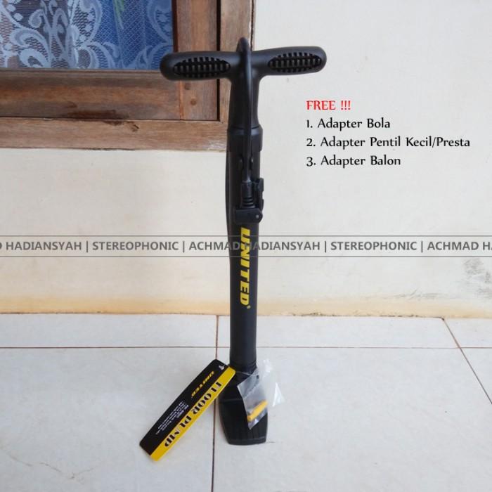Foto Produk Pompa Sepeda United Pm8800 | Floor Pump United Pm-8800 | Pompa Lantai dari stereophonic
