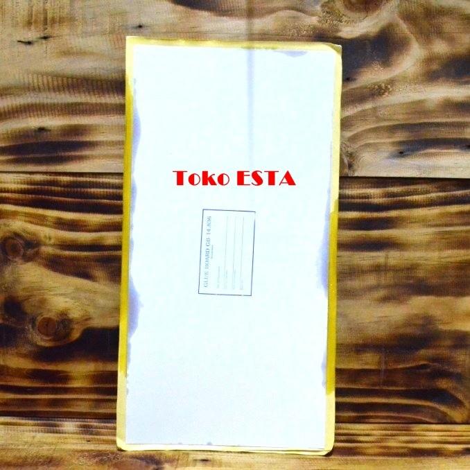 harga Glue board / glue pad / perangkap lem untuk flycatcher 19 x 38 cm Tokopedia.com