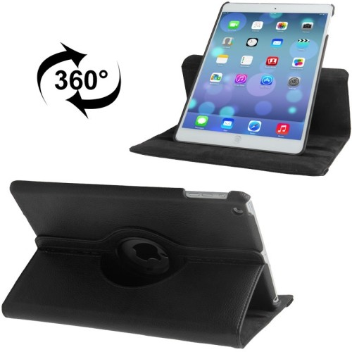 harga Ss5008 - 360 degree rotate leather case ipad air 1 black Tokopedia.com