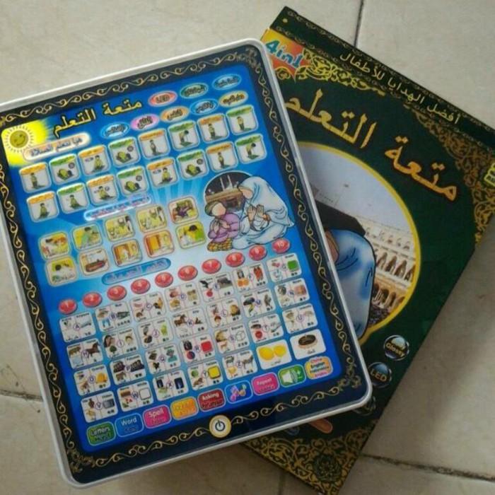harga Playpad arab 3 bahasa mainan edukasi play pad Tokopedia.com