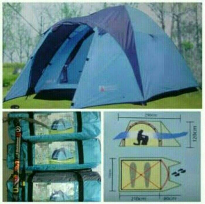 Tenda Dome Great Outdoor Java 2 kap 2-3 Orang