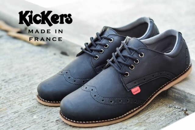 Jual sepatu casual simpel santai gaya pria kickers opec flat slim ... feeb470f9c
