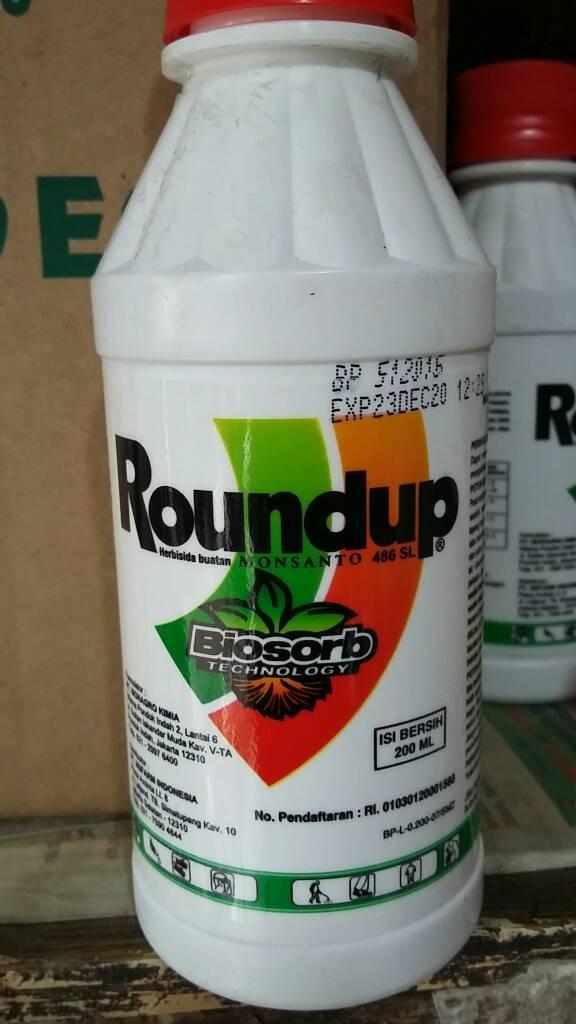 Roundup 200ml racun pembasmi rumput herbisida