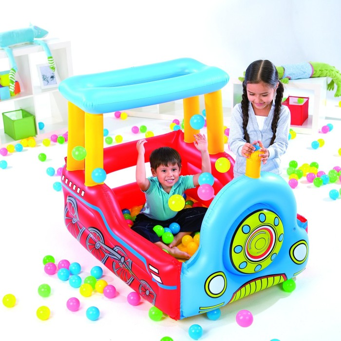 Kolam Mandi Bola Kereta Bestway #52121 / Train Play Center