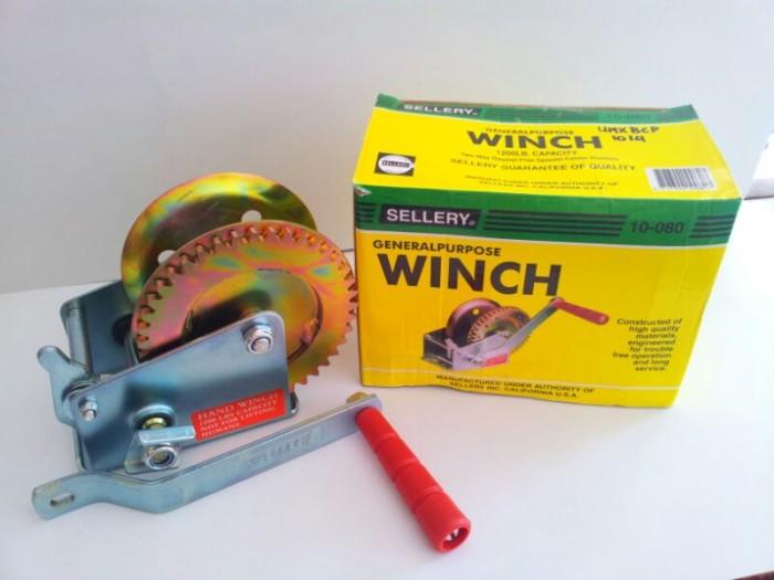 harga Sellery hand winch 1200 lbs Tokopedia.com