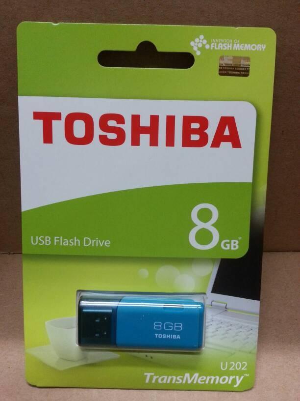 Genuine (ori) Toshiba Hayabusa 8Gb Flash Drive / Flashdisk Putih/Tosca