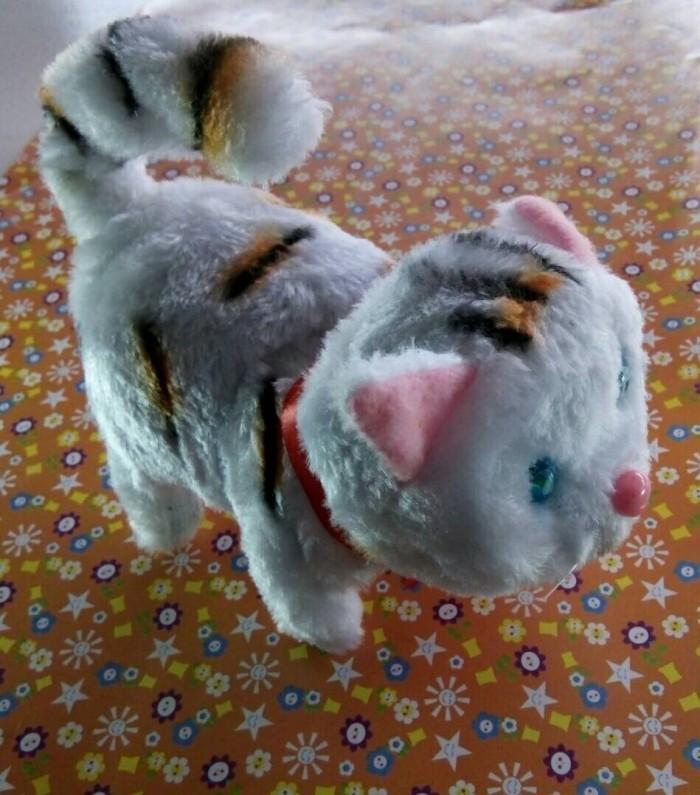 Jual Boneka Kucing Lucu Bisa Berjalan dan Bersuara