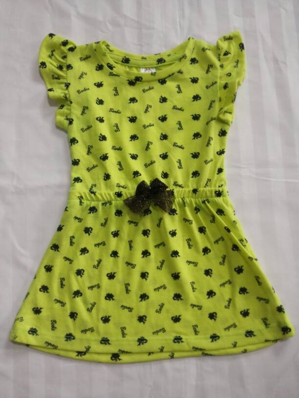 harga Baju anak branded dress barbie girl yellow cute fashion kids Tokopedia.com