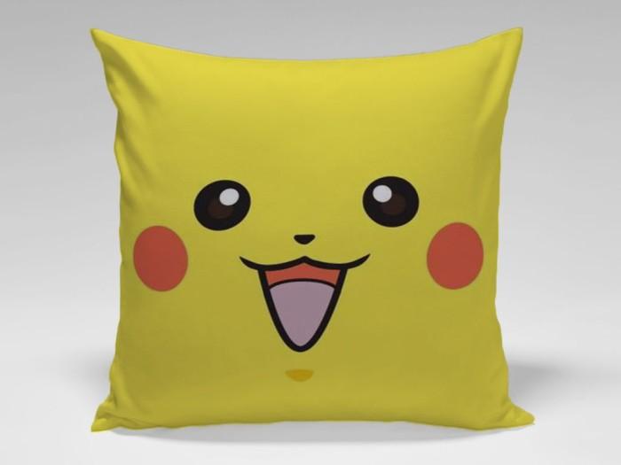 harga Bantal sofa / dekorasi pokemon go - pikachu face Tokopedia.com