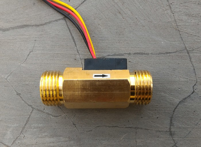 harga Water liquid flow sensor 3/4 inch inchi 3/4  kuningan lurus aliran air Tokopedia.com