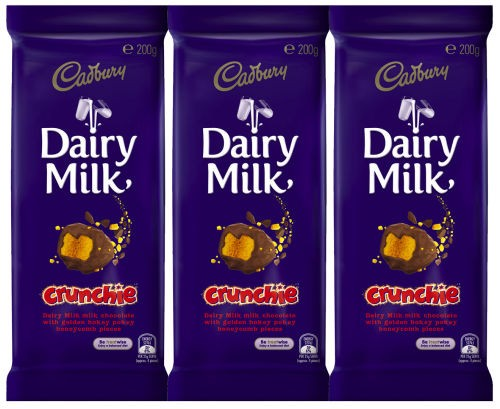 harga Dairy milk crunchie 200 g Tokopedia.com