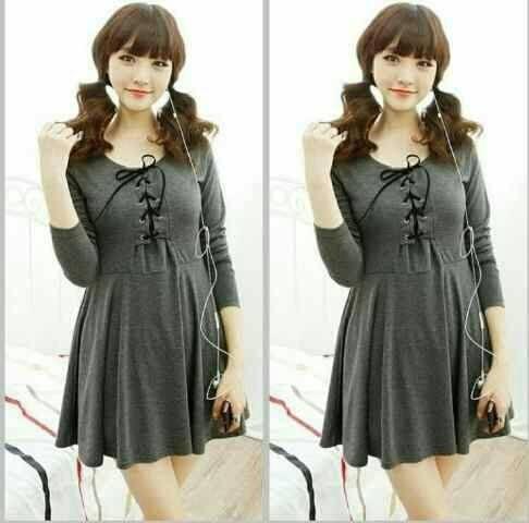 Jual Model Dress Terbaru Lollipop Ala Korea 150816 Promo Kab