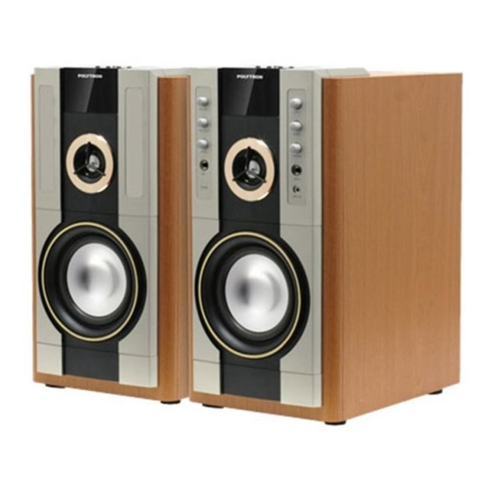 harga Polytron pas 61m active speaker - high quality sound - usb - fm radio Tokopedia.com