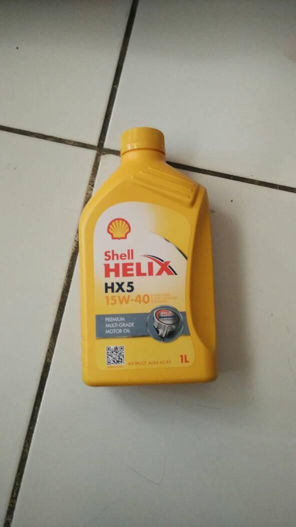 harga Shell helix hx5 15w-40 ( 1 liter ) Tokopedia.com
