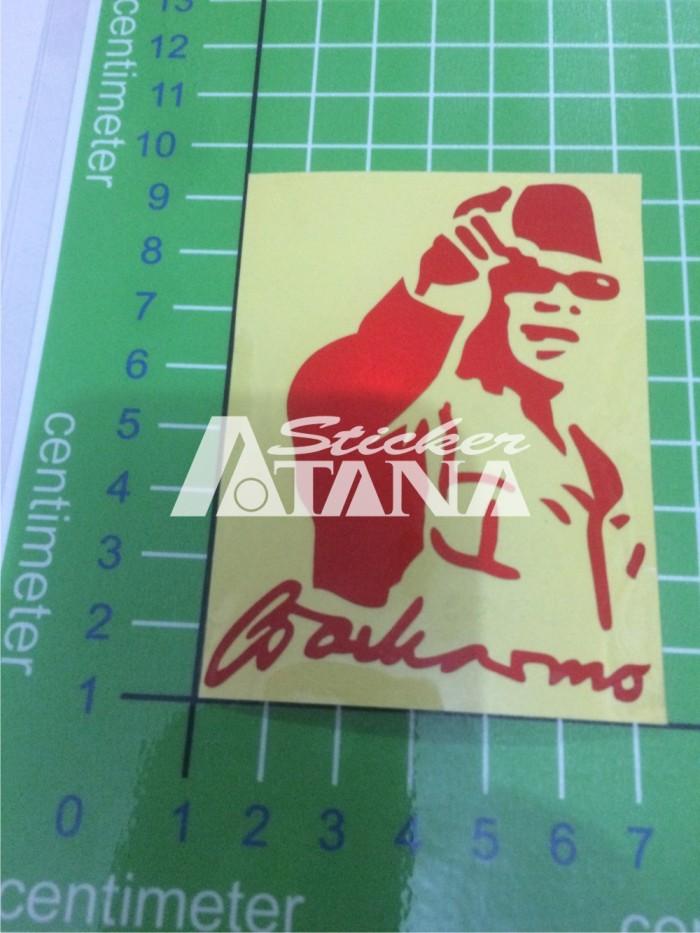 Jual Sticker Cutting Scotlite Sketsa Ir Soekarno Nunjuk Kota Pekalongan Atana Sticker Tokopedia