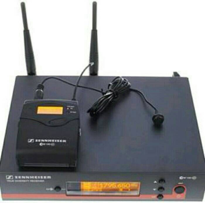 harga Mic wireless sennheiser ew 122 g3 (clip on) Tokopedia.com