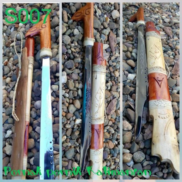 harga Mandau senjata khas kalimantan (s007) Tokopedia.com