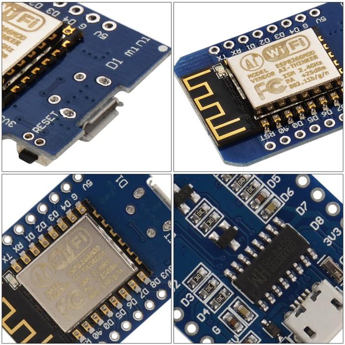 harga Wemos d1 mini nodemcu lua wifi arduino iot based on esp8266 Tokopedia.com
