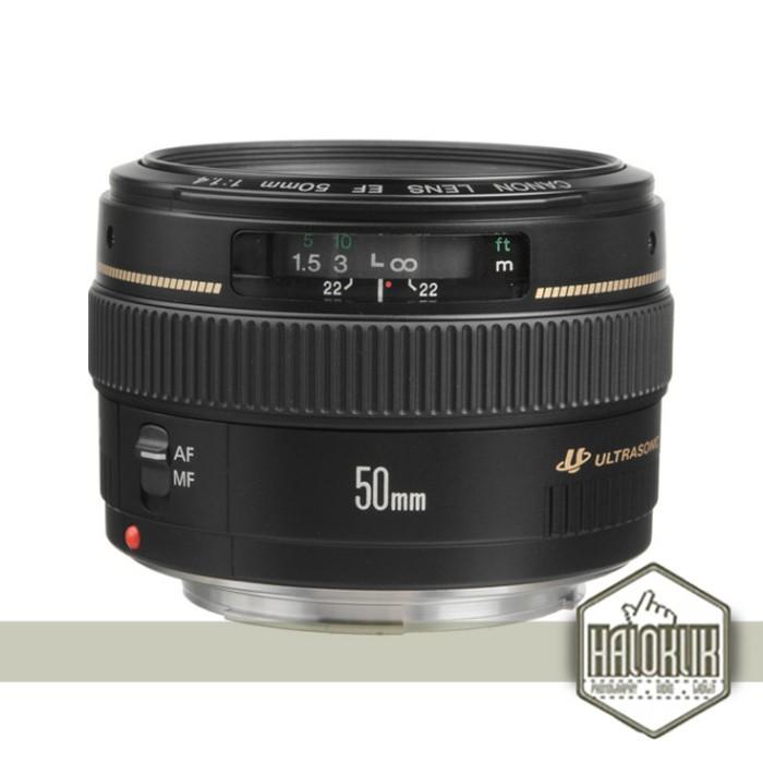 harga Canon lensa ef 50mm f/1.4 usm  (garansi resmi) Tokopedia.com