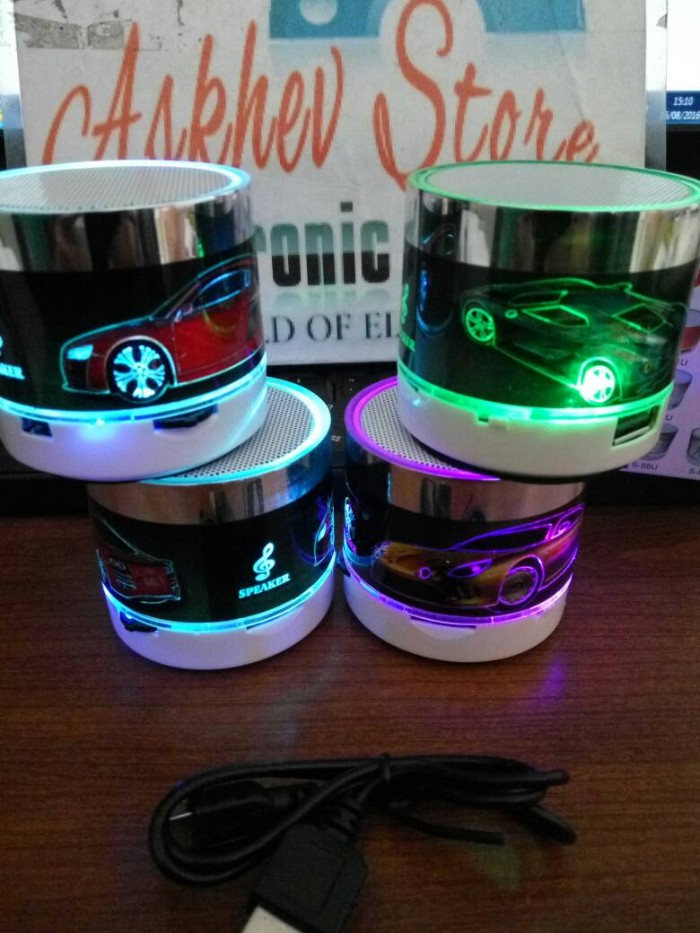 harga Speaker bluetooth super bass mini portable music mobil Tokopedia.com