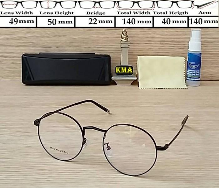 frame kacamata minus/kacamata korea vintage/frame bulat