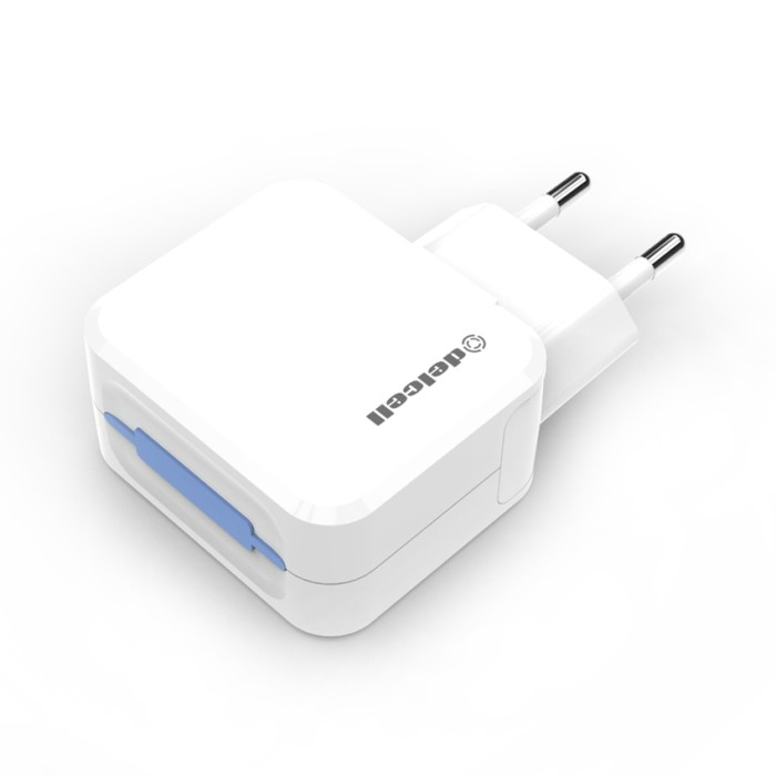 Delcell Dual USB Travel Charger [3.1A]