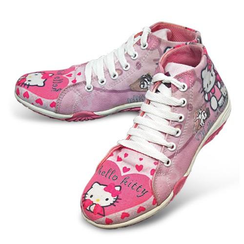 harga Sepatu anak perempuan sepatu sekolah cewek motif hello kitty 019gml Tokopedia.com