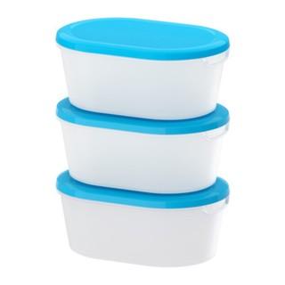 harga Ikea jamka kotak makan makanan tempat serbaguna isi 3 pcs ukuran 20x14 Tokopedia.com